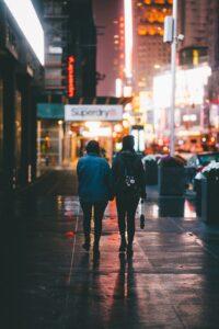 walking on nyc streets