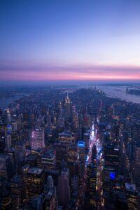 Manhattan During the Night