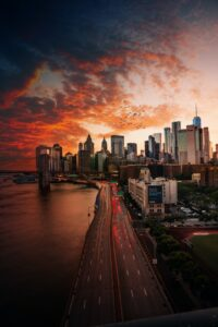 NYC sundown