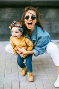 kid with friend