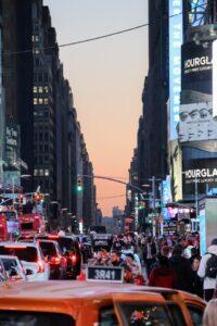 traffic in New York