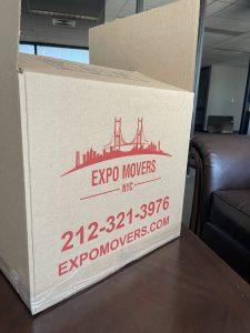 expo moving box