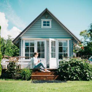 green summer house