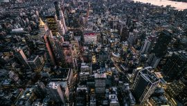 NYC from the sky